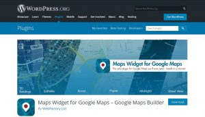 widgets google maps for wordpress