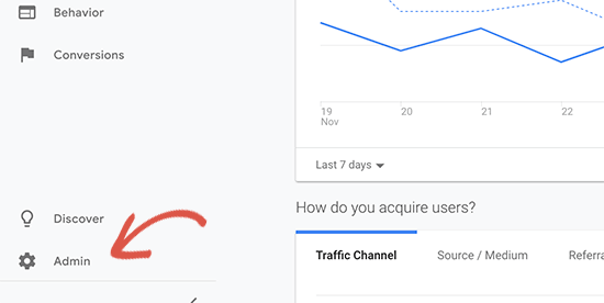 Menghubungkan Google Analytic dengan Search Console