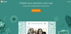 platform blogging blogspot