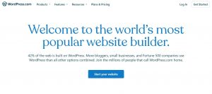 platform blogging wordpress