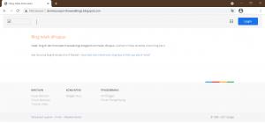 contoh penghapusan blogger oleh google