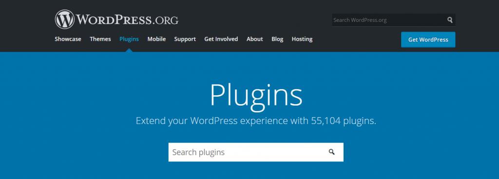 wordpress plugin directory page