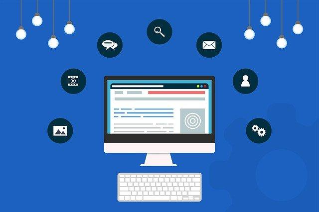 Komponen informasi merupakan salah satu komponen utama dalam wireframe website