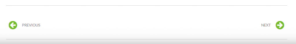 default pagination WordPress