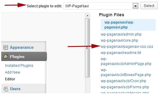 Setting WP PageNavi
