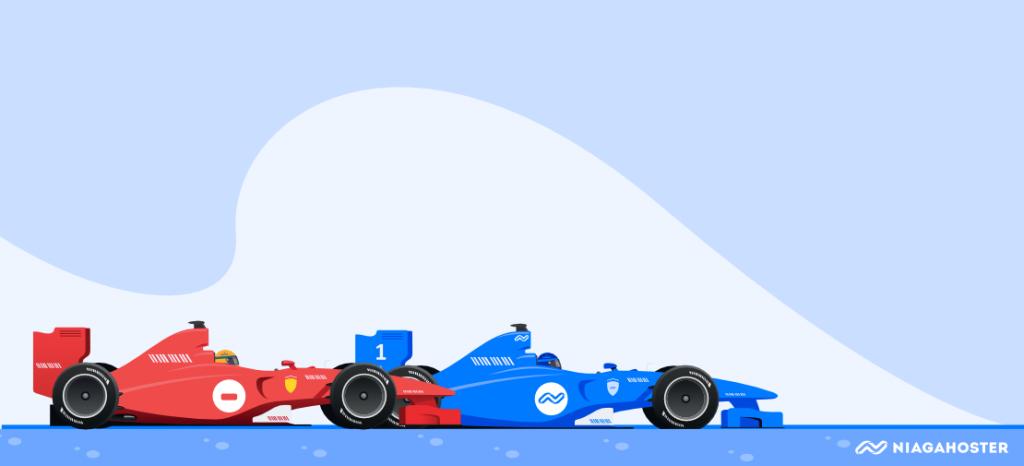 ilustrasi pembalap
