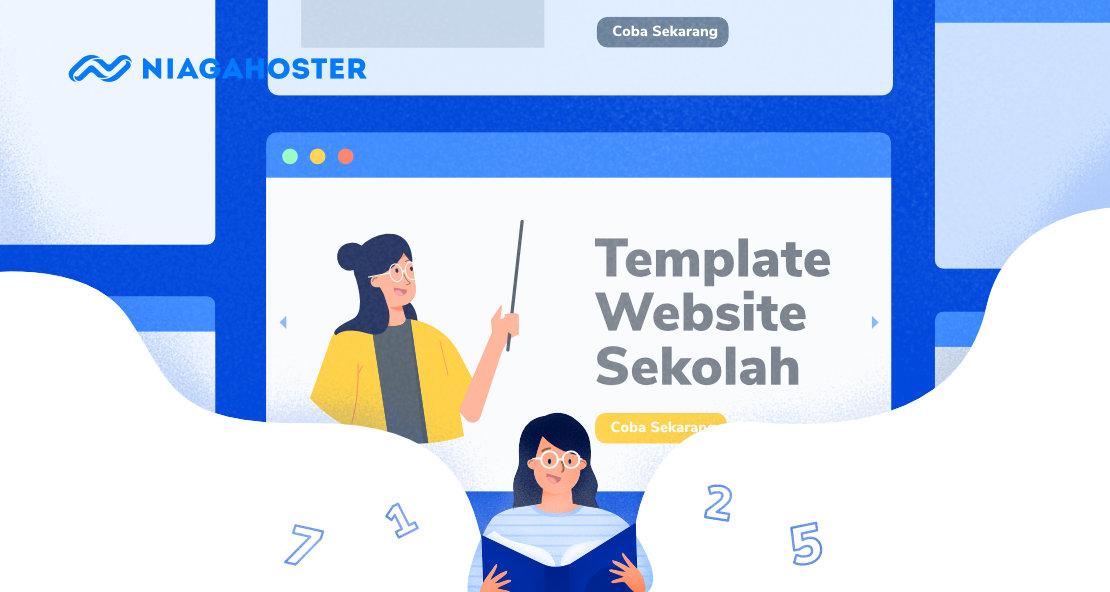 template wordpress website sekolah terbaik