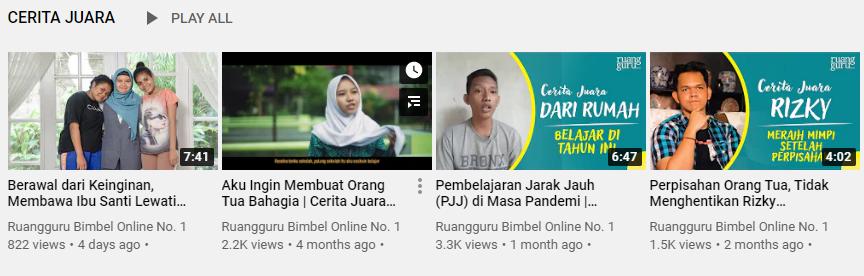 Success Story Ruangguru