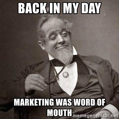 meme promosi dari mulut ke mulut
