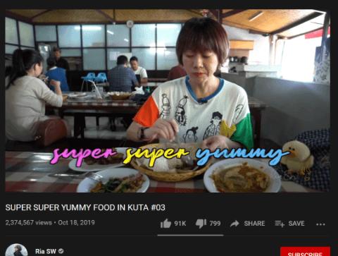 Vlog akan lebih dikenal jika ada tagline yang digunakan