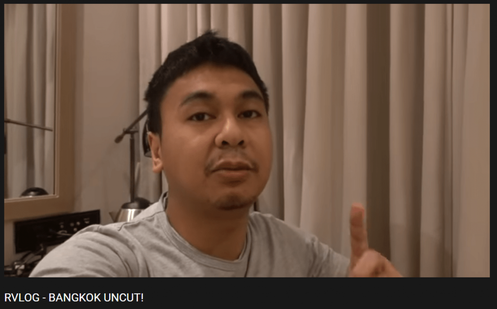 Jenis pengambilan gambar vlog bernama Talking Head