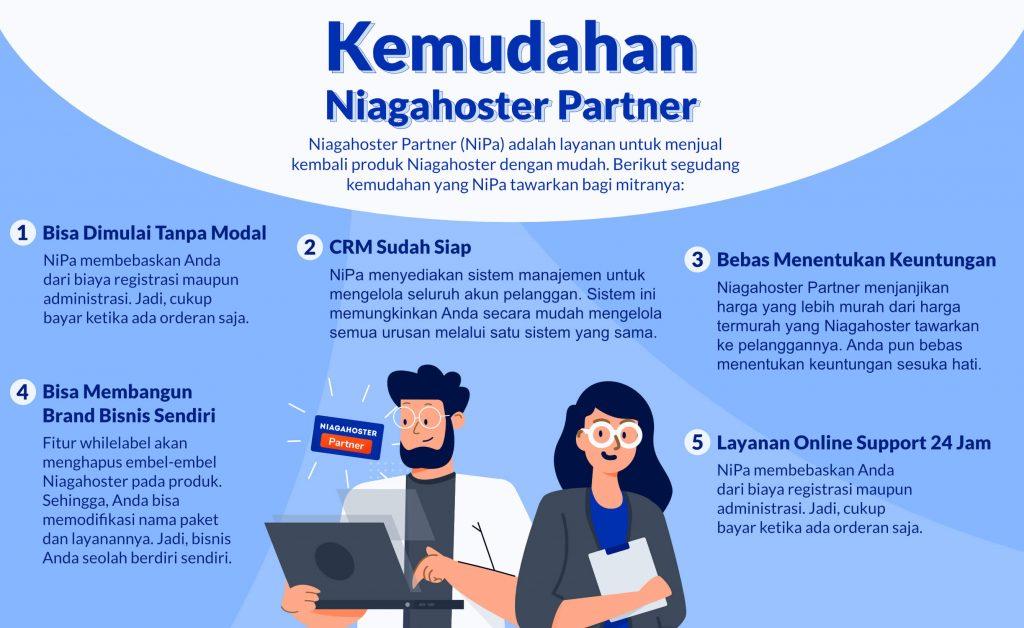 Kemudahan Niagahoster Partner
