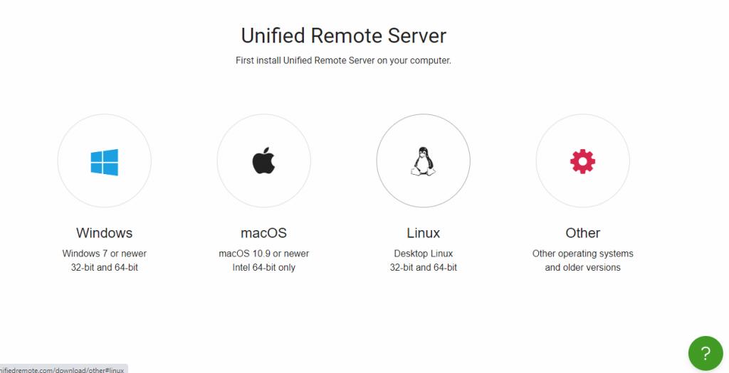 Unified Remote Desktop
