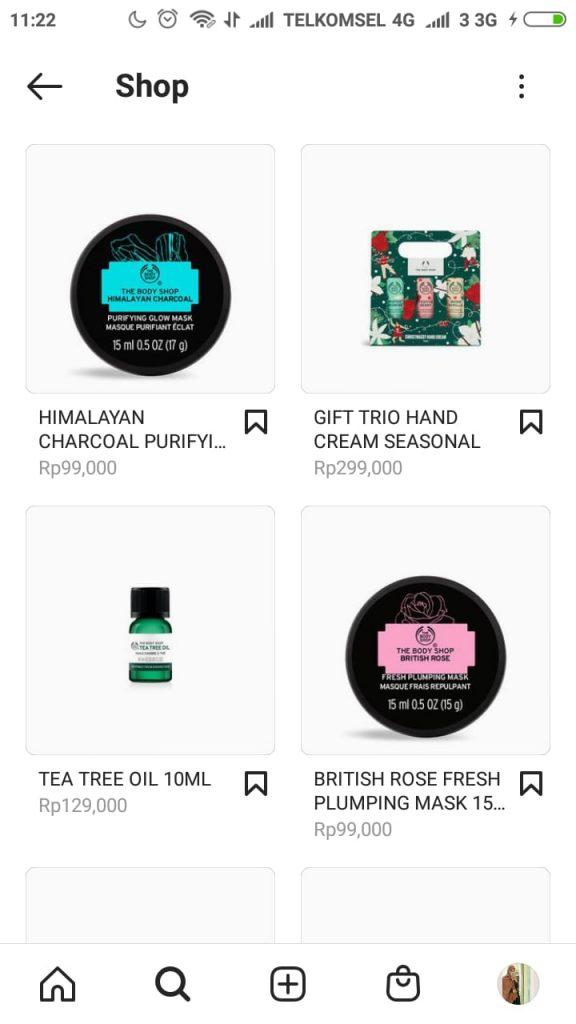 katalog produk instagram