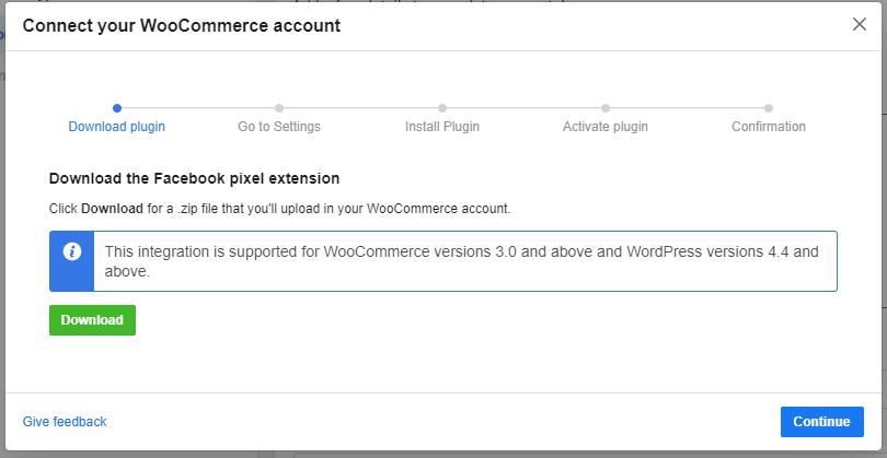 menghubungkan katalog dengan WooCommerce