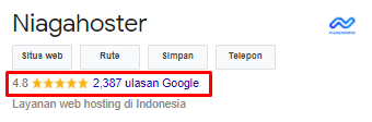 Rating Niagahoster