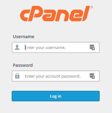 Cara menggunakan SFTP di cPanel, login ke cPanel