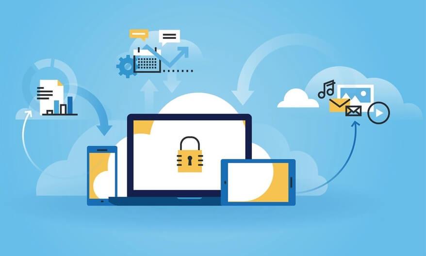 ilustrasi cloud hosting