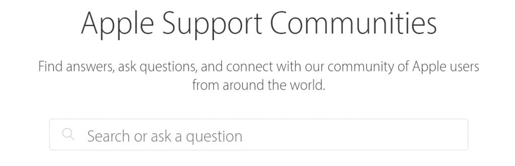 Community Marketing Apple