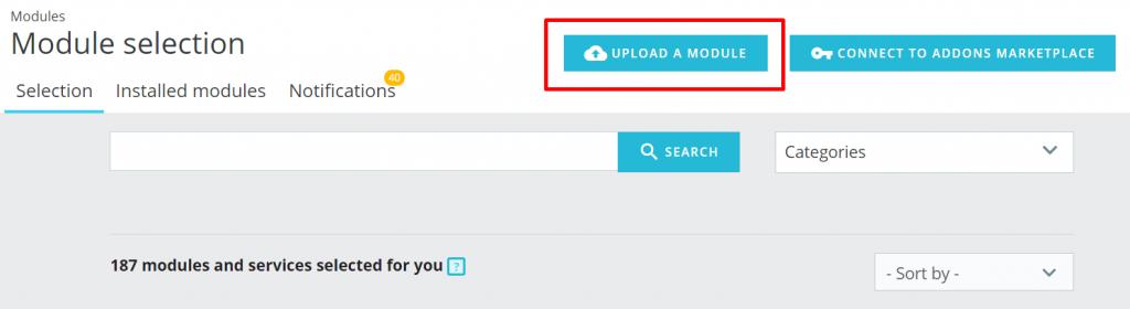 cara upload module prestahop mudah