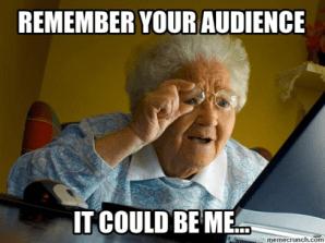 tentukan target audiens Anda
