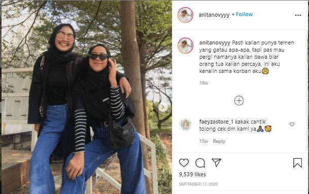 cara menjadi selebgram remaja seperti Anita Noviyanti dengan posting topik kekinian.
