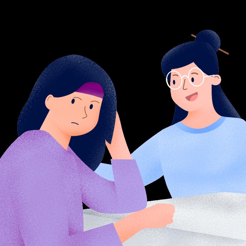 ilustrasi bangun hubungan emosinal dengan pelanggan untuk customer experience
