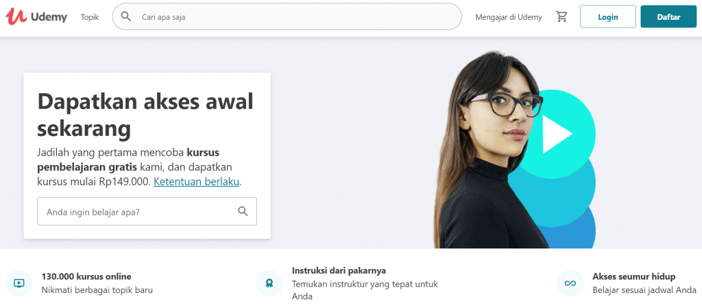 contoh ide bisnis e-learning
