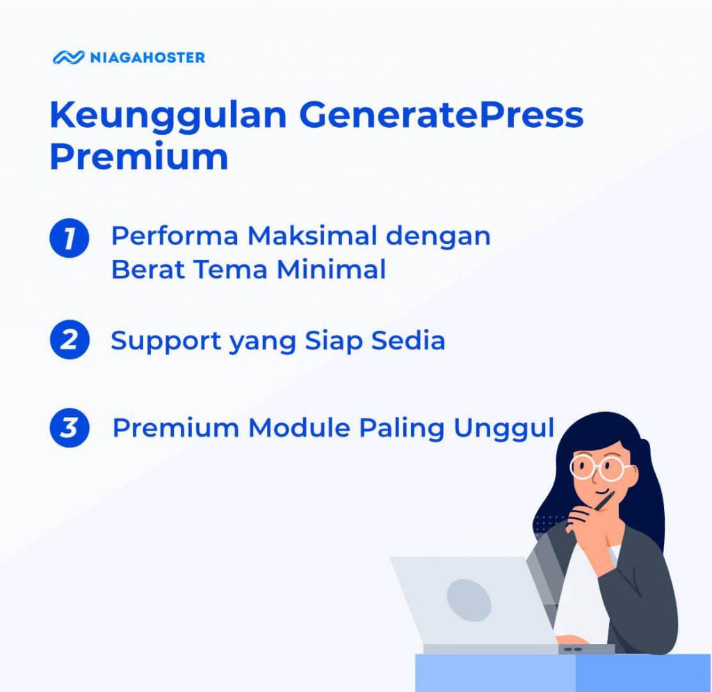 keunggulan tema generatepress premium
