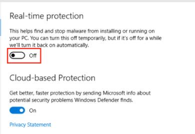 Mematikan Antivirus di Windows