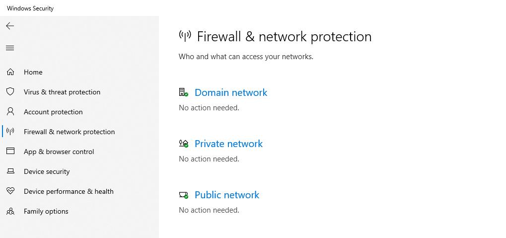 Mematikan Firewall di Windows