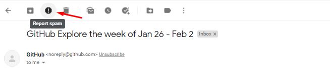 Alasan kenapa email masuk spam adalah penerima menandai email tersebut
