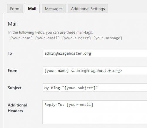 Cara mengatur email otomatis dari plugin contact form