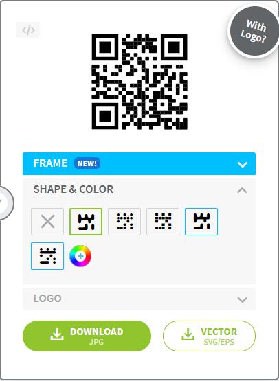 tampilan kode yang siap digunakan