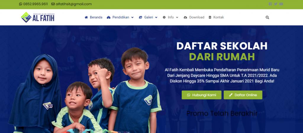 Website Multi fungsi SIT Al Fatih