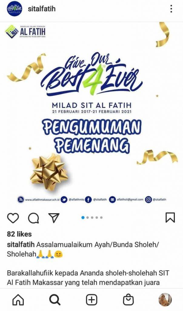 Instagram SIT Al Fatih