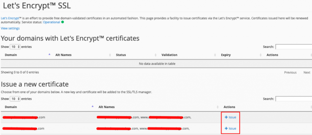 cara issue ssl gratis let's encrypt di cpanel