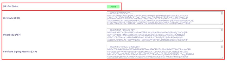 kode verifikasi dari comodo ssl