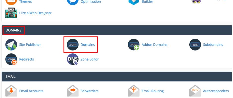menu domain di cpanel untuk force https