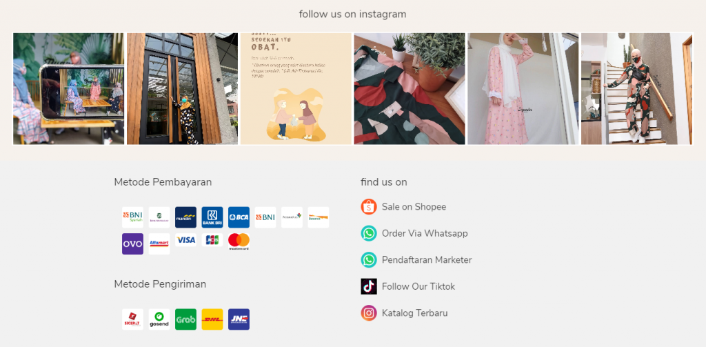 saluran pemasaran marketplace squada di footer