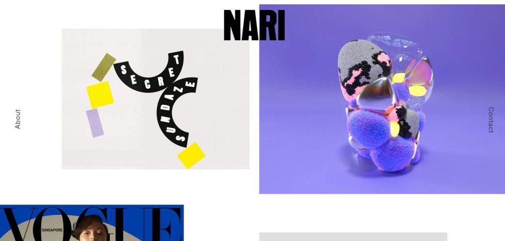 portofolio desain creative agency studio nari