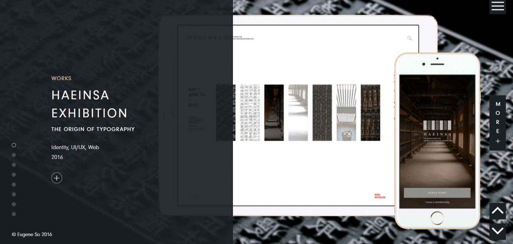 portofolio desain yang menampilkan project klien