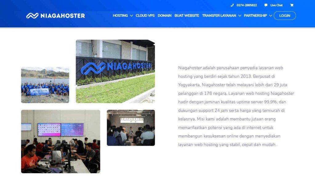 contoh strategi branding dengan halaman about us di website