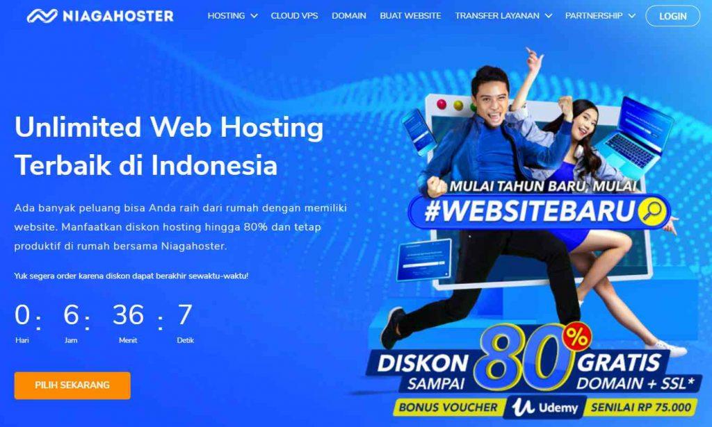 contoh desain website yang kuat