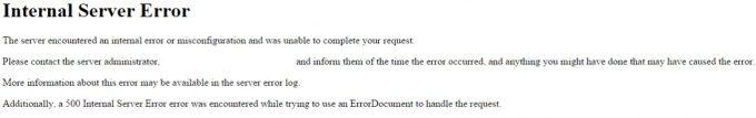 Laravel error 500