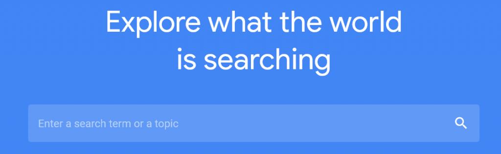 Kolom search term