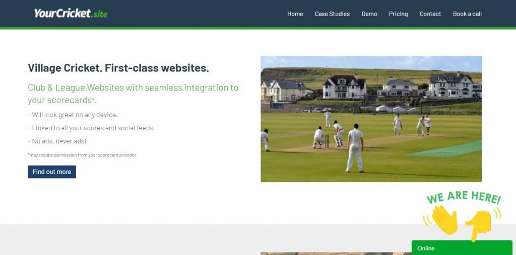 Your Cricket