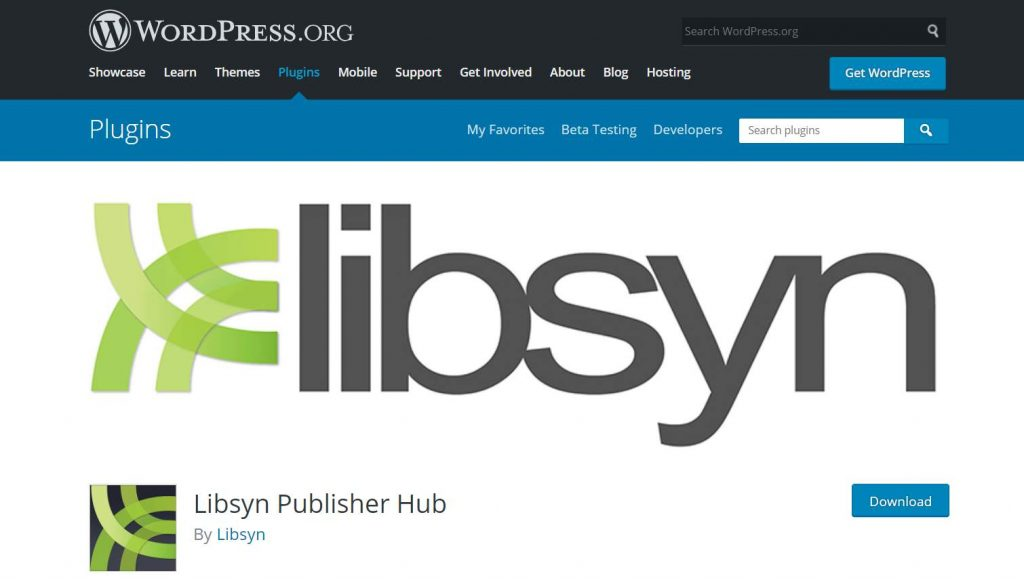 Lybsyn Publisher Hub plugin WordPress