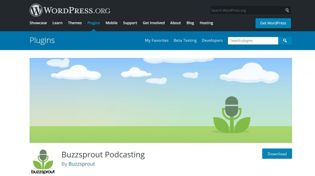 Buzzprout Podcasting plugin