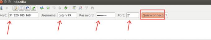 Upload website melalui FTP Filezilla